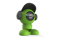 iDance Beatdude Bluetooth Wireless Speaker-Green