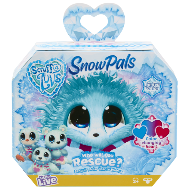 Scruff-a-Luvs: Surprise Plush - Snow Pals (Assorted Designs)