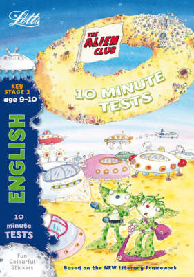 Alien Club 10 Minute Tests English 9-10 by Lynn Huggins Cooper