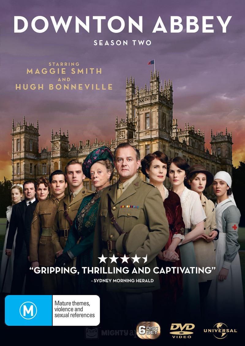 Downton Abbey - Season Two on DVD image