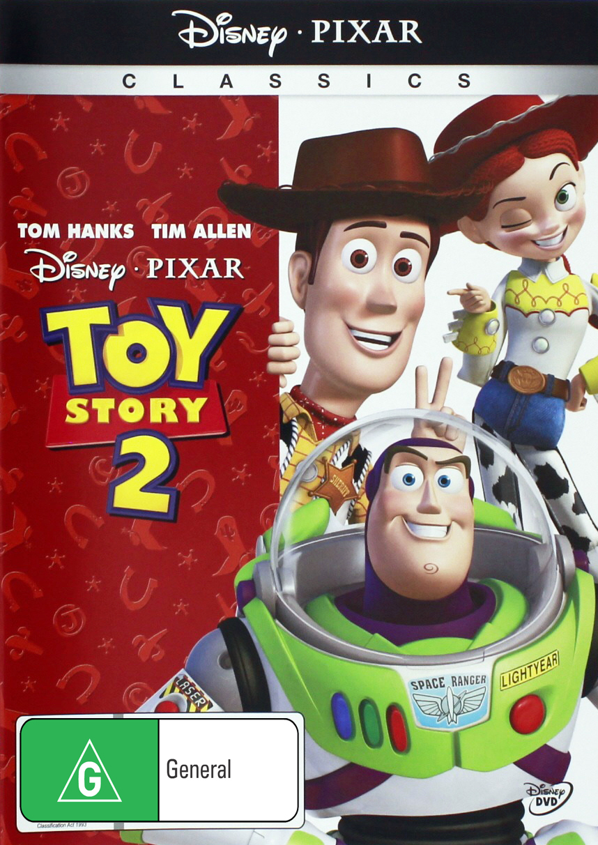 Toy Story 2 on DVD image