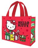Hello Kitty - Happy Holidays Christmas Shopper Tote (Large)