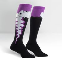 Womens - Bride Of Frankenstein Knee Socks