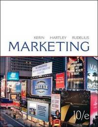 Marketing by Roger A. Kerin image