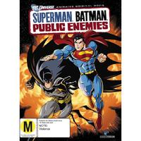 Superman/Batman: Public Enemies on DVD
