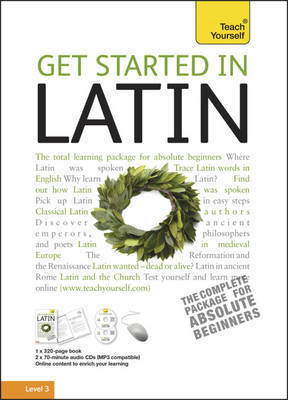 Teach Yourself Get Started in Latin by G.D.A. Sharpley