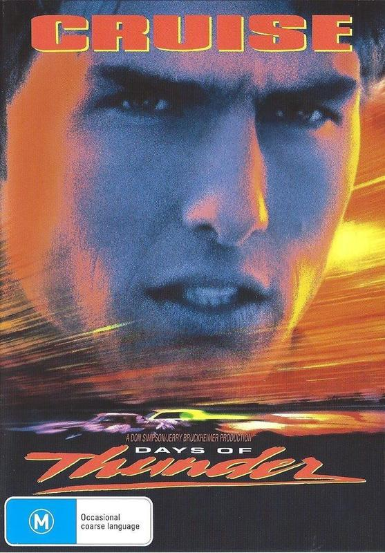 Days Of Thunder on DVD