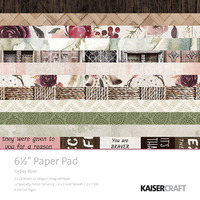 "Kaisercraft: 6.5"" Paper Pack - Gypsy Rose"
