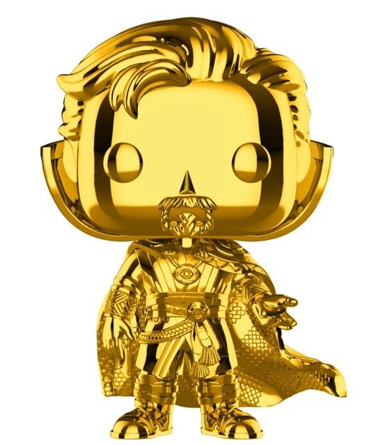 Marvel Studios - Doctor Strange Gold Chrome Pop! Vinyl Figure