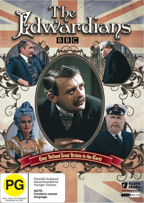 The Edwardians (4 Disc Set) on DVD