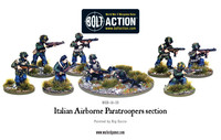 Italian Airborne - Paratroopers section