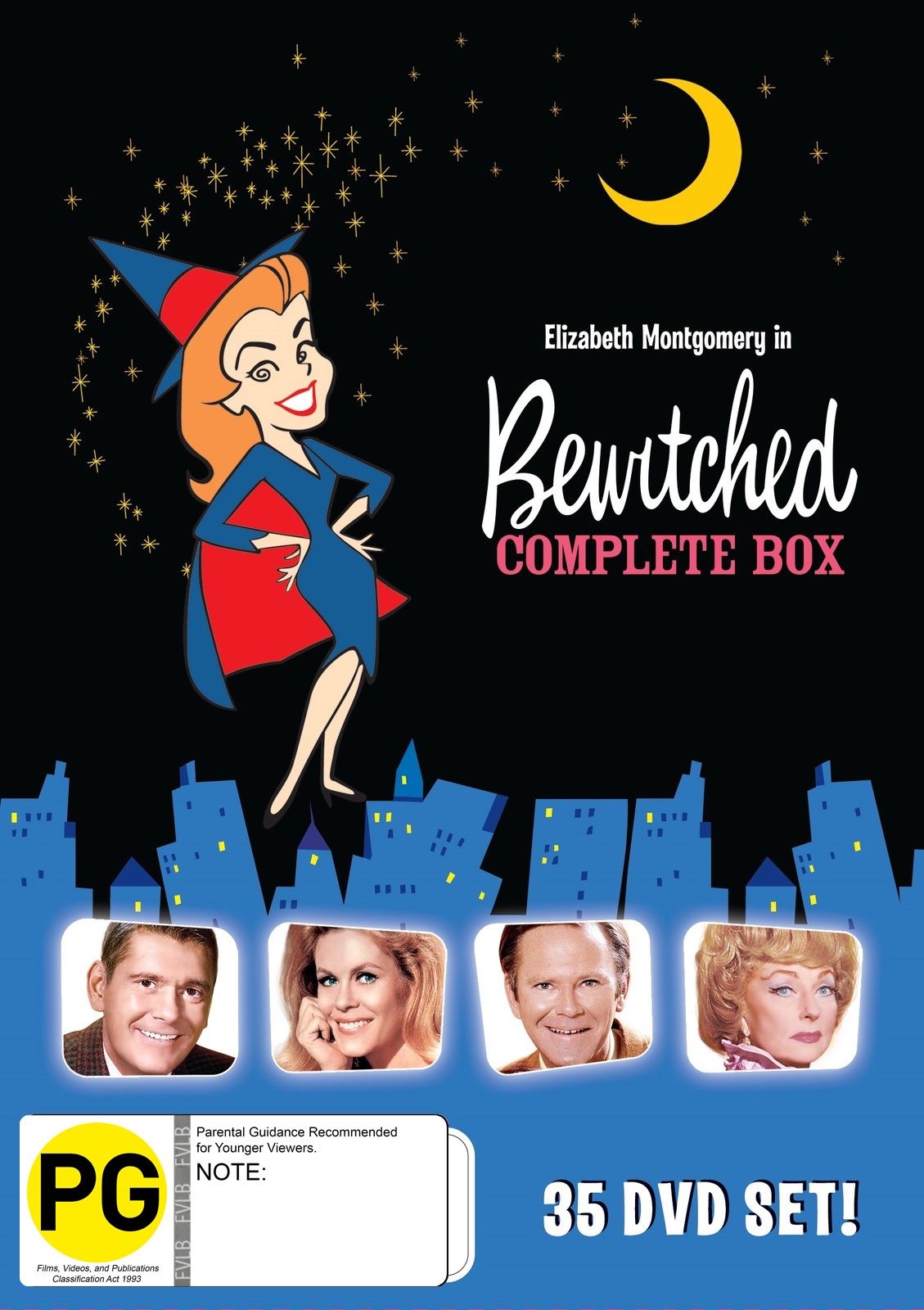 Bewitched - The Complete Collection on DVD image