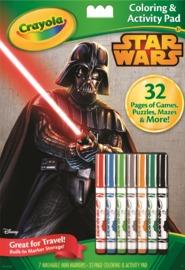 Crayola: Colour & Activity Pad – Star Wars