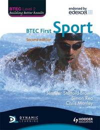 BTEC Level 2 First Sport by Jennifer Stafford-Brown image