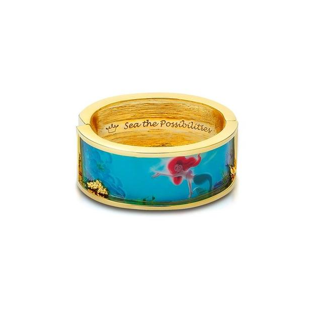 Couture Kingdom: Disney - Princess Ariel Under the Sea Bangle (Yellow Gold)