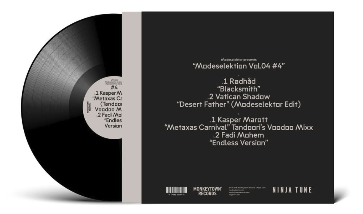 "Modeselektion Vol. 04 - #4 (12""LP) by Modeselektor image"