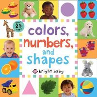 Lift-The-Flap Tab: Colors, Numbers, Shapes by Roger Priddy image