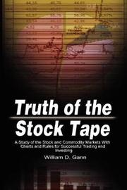 Truth of the Stock Tape by William D. Gann