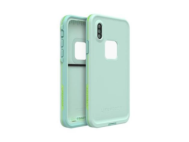 Lifeproof: Fre Case for iPhone Xs Tiki Blue Lime