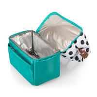 Picnic Time: Urban Lunch Bag (Polka Dots & Teal) image