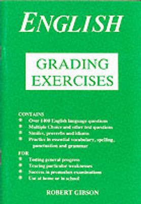 Grading Exercises in English by Archibald Kitto-Jones image