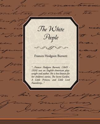 White People by Frances Hodgson Burnett image