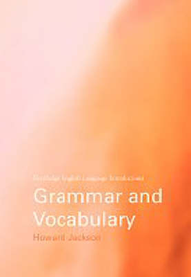 Grammar and Vocabulary by Howard Jackson image
