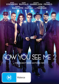 Now You See Me 2 on DVD