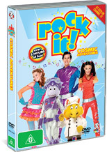 Rock It! - Cosmic Adventures on DVD