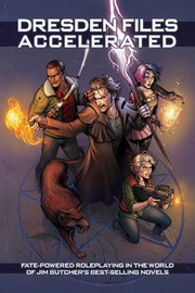 Fate Core RPG: The Dresden Files Accelerated Hardcover