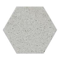 Terrazzo Stone Serveboard - Hex (Grey)