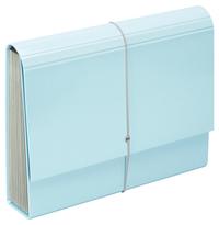 FM: A4 Pastel - Expanding File (Baby Blue)