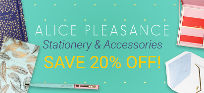 20% off Alice Pleasance