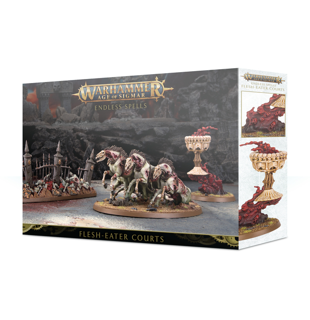 Warhammer Age of Sigmar Endless Spells: Flesheater Courts