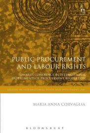 Public Procurement and Labour Rights by Maria Anna Corvaglia