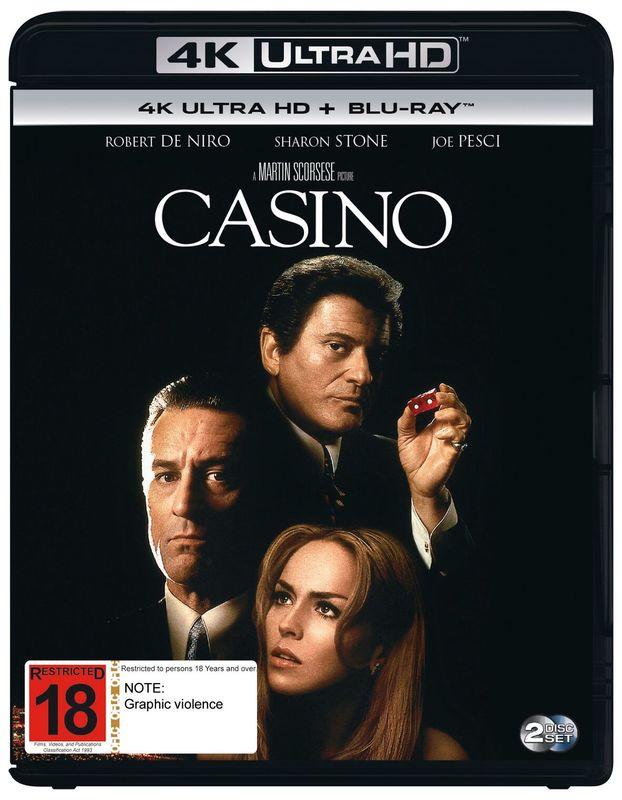 Casino on UHD Blu-ray