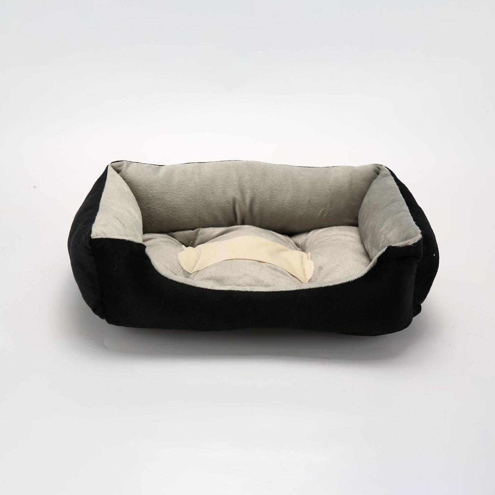 Ape Basics: Pet Kennel Warm Four Seasons Pet Mat - Grey (Large) image
