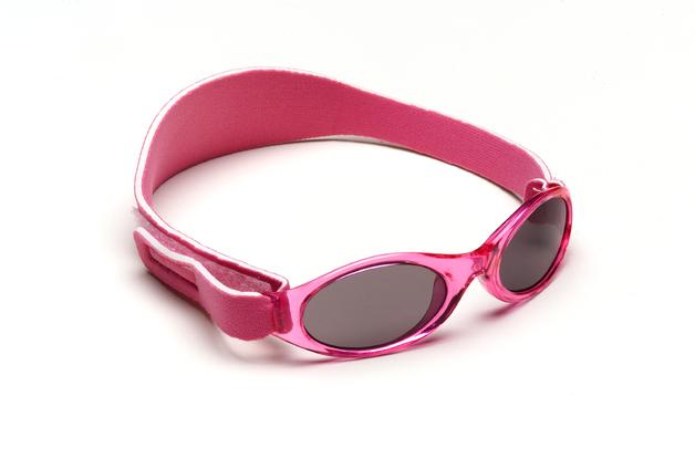 Adventure Baby Banz Polarised Sunglasses - Pink