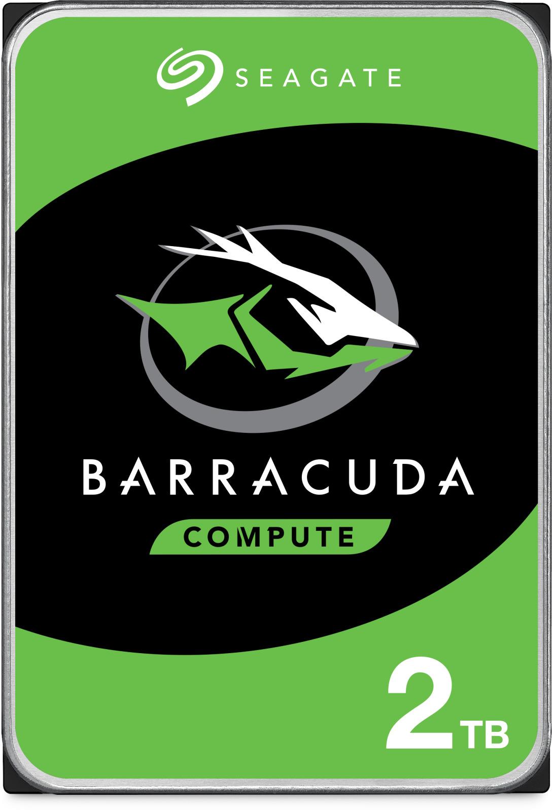 2TB Seagate BarraCuda HDD image