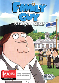 Family Guy - Season 9 (3 Disc Set) on DVD
