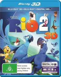 Rio 2 3D on Blu-ray, 3D Blu-ray, UV