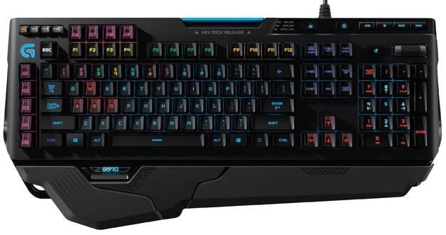 Logitech G910 RGB Mechanical Keyboard (Orion Spark) for