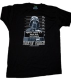 Star Wars - Darth Vader Mug Shot Male T-Shirt (Large)