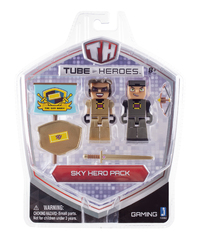 Tube Heroes: Sky Hero Pack Action Figures