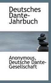 Deutsches Dante-Jahrbuch by * Anonymous image