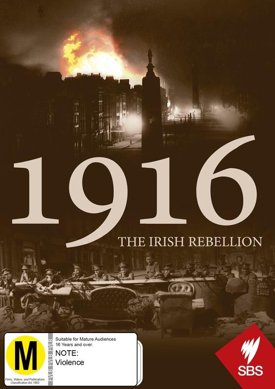 1916 - The Irish Rebellion on DVD
