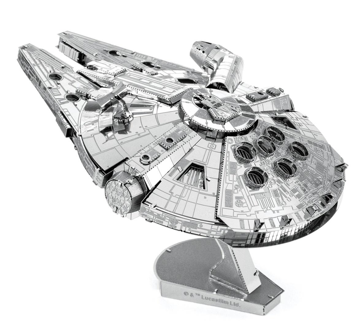 Metal Earth ICONX: Millennium Falcon - Model Kit image