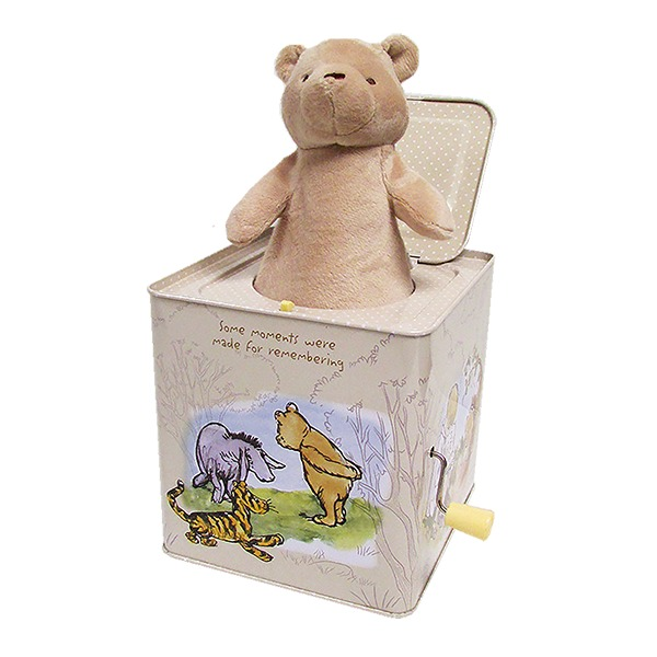 Winnie The Pooh Classic Pooh Jack In The Box
