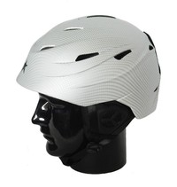 Alpine Star: Silver Carbon H01 Adults Helmet (Small)