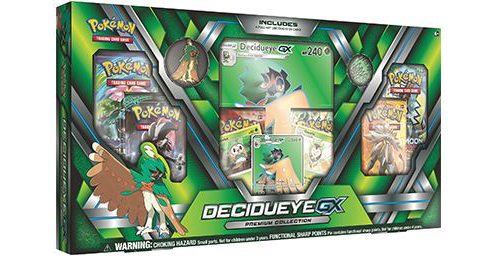 Pokemon TCG GX Premium Collection: Decidueye